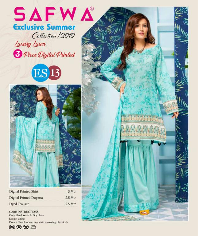 e29595b6ea ES 13 - Exclusive Summer Collection Vol 2- 3 PIECE SUIT 2019 – SAFWA ...