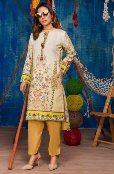 SP-14-SAFWA PREMIUM LAWN-SERENE PLUS COLLECTION-DIGITAL 2 PIECE - Safwa-Pakistani Dresses-Dresses-Kurti-Shop Online