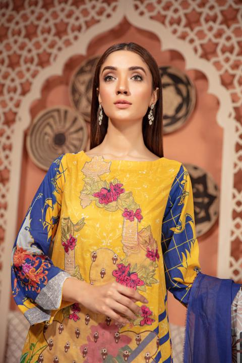 SU-14 - SAFWA URBAN COLLECTION VOL 2 2020 - 3 PIECE SUMMER DRESS COLLECTION
