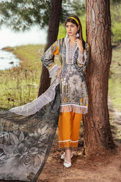 BC-14 - BELLA COLLECTION - 3 PIECE SUIT 2020-Three Piece Suit-SAFWA -SAFWA Brand Pakistan online shopping for Designer Dresses SAFWA DRESS DESIGN, DRESSES, PAKISTANI DRESSES