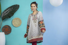 SSC-15 - SAFWA PREMIUM LAWN - STELLER COLLECTION Vol 1 2020 - EMBROIDERY DIGITAL - SHIRTS - Shirt-Kurti - safwa