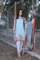 PR-15 - SAFWA PRAHA COLLECTION 3 PIECE SUIT 2020 - Three Piece Suit-SAFWA -SAFWA Brand Pakistan online shopping for Designer Dresses| SAFWA| DRESS| DESIGN| DRESSES| PAKISTANI DRESSES