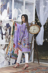 SL-15 -SAFWA LAWN-SALVIA COLLECTION VOL 03 2020 - PRINTED -2 PIECE DRESS - Safwa |Dresses| Pakistani Dresses| Fashion|Online Shopping