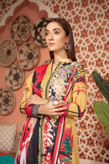 SU-16 - SAFWA URBAN COLLECTION VOL 2 2020 - 3 PIECE SUMMER DRESS COLLECTION