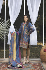 SL-16 -SAFWA LAWN-SALVIA COLLECTION VOL 03 2020 - PRINTED -2 PIECE DRESS - Safwa |Dresses| Pakistani Dresses| Fashion|Online Shopping