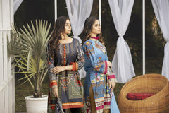 SL-18 -SAFWA LAWN-SALVIA COLLECTION VOL 03 2020 - PRINTED -2 PIECE DRESS - Safwa |Dresses| Pakistani Dresses| Fashion|Online Shopping