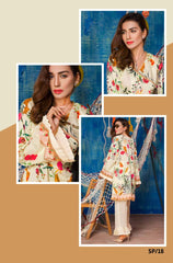 SP-18-SAFWA PREMIUM LAWN-SERENE PLUS COLLECTION-DIGITAL 2 PIECE - Safwa-Pakistani Dresses-Dresses-Kurti-Shop Online