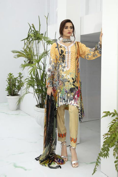 BL-19 - BELLA COLLECTION - 3 PIECE SUIT 2020-Three Piece Suit-SAFWA -SAFWA Brand Pakistan online shopping for Designer Dresses SAFWA DRESS DESIGN, DRESSES, PAKISTANI DRESSES