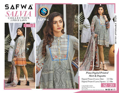 SL-20 -SAFWA LAWN-SALVIA COLLECTION VOL 03 2020 - PRINTED -2 PIECE DRESS - Safwa |Dresses| Pakistani Dresses| Fashion|Online Shopping
