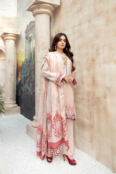 JC-21-SAFWA JACQUARD COTTON COLLECTION VOL 3 2020 - 3 PIECE DRESS - Safwa | Dresses | Pakistani Dresses | Fashion| Online Shopping