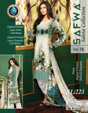 SL-223-SAFWA LAWN-SALVIA COLLECTION- PRINTED -2 PIECE DRESS