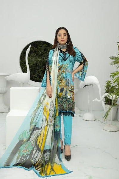 BL-22 - BELLA COLLECTION - 3 PIECE SUIT 2020-Three Piece Suit-SAFWA -SAFWA Brand Pakistan online shopping for Designer Dresses SAFWA DRESS DESIGN, DRESSES, PAKISTANI DRESSES