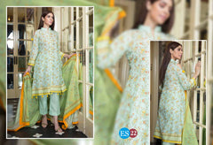 ES 22 - Exclusive  Collection Vol 2 - 3 PIECE SUIT 2019-Three Piece Suit-SAFWA -SAFWA Brand Pakistan online shopping for Designer Dresses-SAFWA DRESS DESIGN, DRESSES, PAKISTANI DRESSES