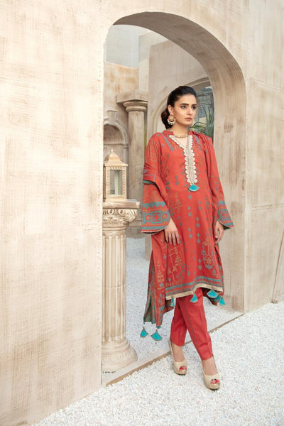 JC-23 - SAFWA JACQUARD COTTON COLLECTION VOL 3 2020 - 3 PIECE DRESS - Safwa | Dresses | Pakistani Dresses | Fashion| Online Shopping