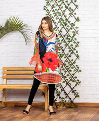 SSC/24 - SERENE COLLECTION VOL 4 2020 - SAFWA PREMIUM LAWN - DIGITAL SHIRT - KURTI