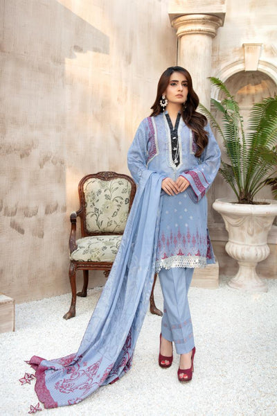 JC-24 - SAFWA JACQUARD COTTON COLLECTION VOL 3 2020 - 3 PIECE DRESS - Safwa | Dresses | Pakistani Dresses | Fashion| Online Shopping