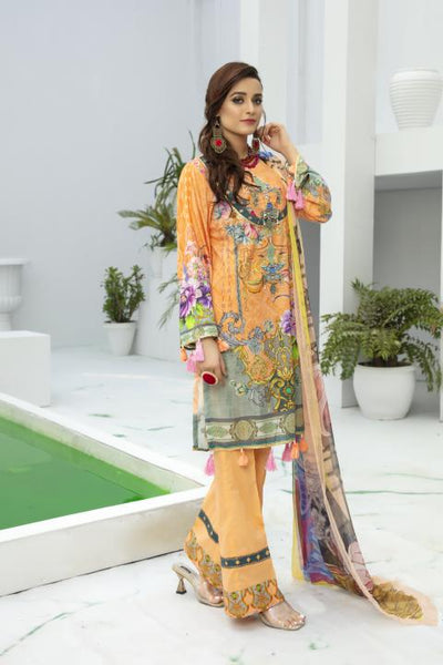 BL-24 - BELLA COLLECTION - 3 PIECE SUIT 2020-Three Piece Suit-SAFWA -SAFWA Brand Pakistan online shopping for Designer Dresses SAFWA DRESS DESIGN, DRESSES, PAKISTANI DRESSES