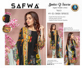SV-25 -SAFWA SWISS VISCOSE 3 PIECE DRESS COLLECTION-DIGITAL PRINTED 2019