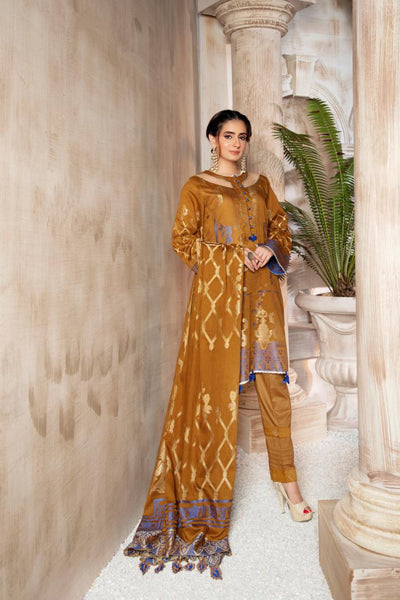 JC-27 - SAFWA JACQUARD COTTON COLLECTION VOL 3 2020 - 3 PIECE DRESS - Safwa | Dresses | Pakistani Dresses | Fashion| Online Shopping
