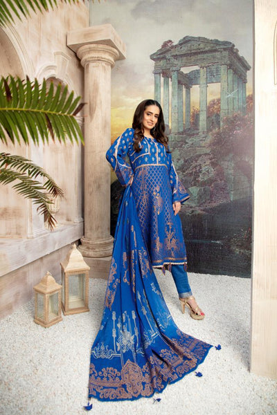 JC-28 - SAFWA JACQUARD COTTON COLLECTION VOL 3 2020 - 3 PIECE DRESS - Safwa | Dresses | Pakistani Dresses | Fashion| Online Shopping
