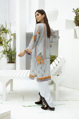 SSC-29 - SAFWA PREMIUM LAWN - STELLER COLLECTION Vol 3 2020 - EMBROIDERY DIGITAL - SHIRTS - Shirt-Kurti - safwa