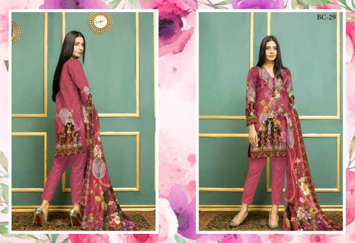 BC-29 - BELLA COLLECTION - 3 PIECE SUIT 2019-Three Piece Suit-SAFWA -SAFWA Brand Pakistan online shopping for Designer Dresses| SAFWA| DRESS| DESIGN| DRESSES| PAKISTANI DRESSES