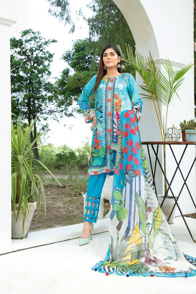 BL-30 - BELLA COLLECTION - 3 PIECE SUIT 2020-Three Piece Suit-SAFWA -SAFWA Brand Pakistan online shopping for Designer Dresses SAFWA DRESS DESIGN, DRESSES, PAKISTANI DRESSES