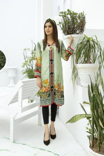 SSC-31 - SAFWA PREMIUM LAWN - STELLER COLLECTION Vol 3 2020 - EMBROIDERY DIGITAL - SHIRTS - Shirt-Kurti - safwa