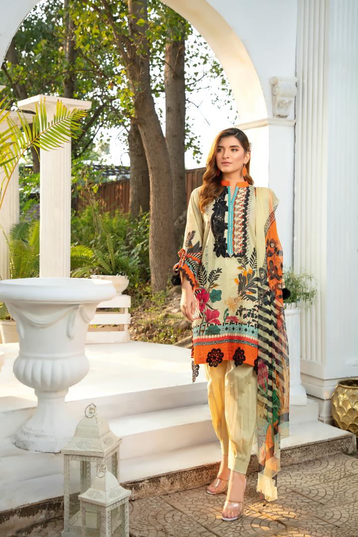 BL-31 - BELLA COLLECTION - 3 PIECE SUIT 2020-Three Piece Suit-SAFWA -SAFWA Brand Pakistan online shopping for Designer Dresses SAFWA DRESS DESIGN, DRESSES, PAKISTANI DRESSES
