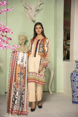 MC 32 - SAFWA DIGITAL MODALLE 3 PIECE PRINT COLLECTION -SHIRT Trouser and Duptta |SAFWA DRESS DESIGN| DRESSES| PAKISTANI DRESSES| SAFWA -SAFWA Brand Pakistan online shopping for Designer Dresses