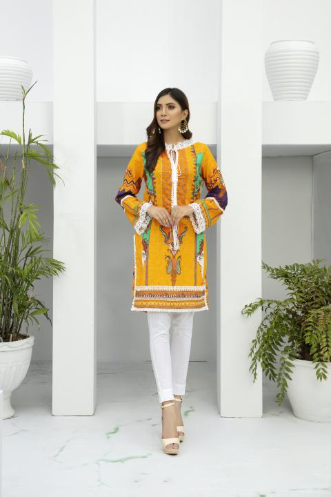 SSC-33 - SAFWA PREMIUM LAWN - STELLER COLLECTION Vol 3 2020 - EMBROIDERY DIGITAL - SHIRTS - Shirt-Kurti - safwa