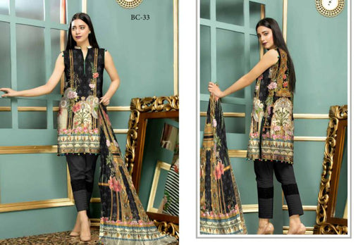 BC-33 - BELLA COLLECTION - 3 PIECE SUIT 2019-Three Piece Suit-SAFWA -SAFWA Brand Pakistan online shopping for Designer Dresses| SAFWA| DRESS| DESIGN| DRESSES| PAKISTANI DRESSES