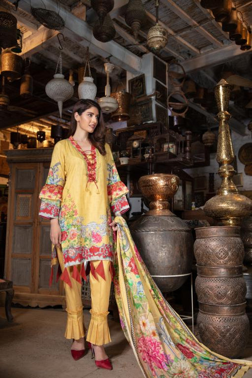 PR-38 -SAFWA PRAHA COLLECTION VOL 5 2020 - 3 PIECE SUIT | DRESS COLLECTION