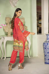 MC 39 - SAFWA DIGITAL MODALLE 3 PIECE PRINT COLLECTION -SHIRT Trouser and Duptta |SAFWA DRESS DESIGN| DRESSES| PAKISTANI DRESSES| SAFWA -SAFWA Brand Pakistan online shopping for Designer Dresses