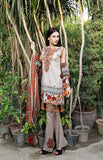 SA-012 - SAFWA LAWN - SAFONA COLLECTION - EMBROIDERED - 3 PIECE DRESS