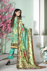 MC 41 - SAFWA DIGITAL MODALLE 3 PIECE PRINT COLLECTION -SHIRT Trouser and Duptta |SAFWA DRESS DESIGN| DRESSES| PAKISTANI DRESSES| SAFWA -SAFWA Brand Pakistan online shopping for Designer Dresses