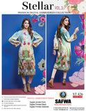 ST-426 - SAFWA PREMIUM LAWN - STELLER COLLECTION - EMBROIDERY DIGITAL  - SHIRTS