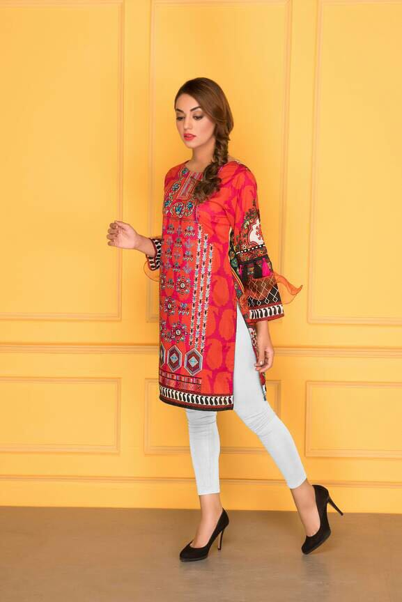 D-505-SAFWA LAWN-SANIA BATTLA COLLECTION-EMBROIDERED-2 PIECE DRESS, Two Piece Suit, SAFWA, SAFWA Brand - Pakistani Dresses | Kurtis | Shalwar Kameez | Online Shopping | Lawn Dress