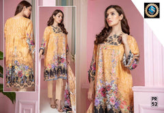 PR-52 SAFWA DRESS DESIGN, DRESSES, PAKISTANI DRESSES, PRAHA COLLECTION - 3 PIECE SUIT 2019-Three Piece Suit-SAFWA -SAFWA Brand Pakistan online shopping for Designer Dresses