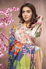 MC 53 - SAFWA DIGITAL MODALLE 3 PIECE PRINT COLLECTION -SHIRT Trouser and Duptta |SAFWA DRESS DESIGN| DRESSES| PAKISTANI DRESSES| SAFWA -SAFWA Brand Pakistan online shopping for Designer Dresses