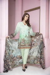 PR-60 SAFWA DRESS DESIGN, DRESSES, PAKISTANI DRESSES, PRAHA COLLECTION - 3 PIECE SUIT 2019-Three Piece Suit-SAFWA -SAFWA Brand Pakistan online shopping for Designer Dresses
