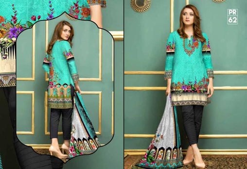 PR-62 SAFWA DRESS DESIGN, DRESSES, PAKISTANI DRESSES, PRAHA COLLECTION - 3 PIECE SUIT 2019-Three Piece Suit-SAFWA -SAFWA Brand Pakistan online shopping for Designer Dresses