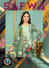 SL-65-SAFWA LAWN-SALVIA COLLECTION- PRINTED -2 PIECE DRESS - Safwa |Dresses| Pakistani Dresses| Fashion|Online Shopping