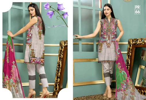 PR-66 SAFWA DRESS DESIGN, DRESSES, PAKISTANI DRESSES, PRAHA COLLECTION - 3 PIECE SUIT 2019-Three Piece Suit-SAFWA -SAFWA Brand Pakistan online shopping for Designer Dresses