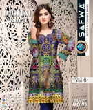 DG 96- SAFWA DIGITAL COTTON PRINT KURTI COLLECTION -SHIRT KURTI KAMEEZ