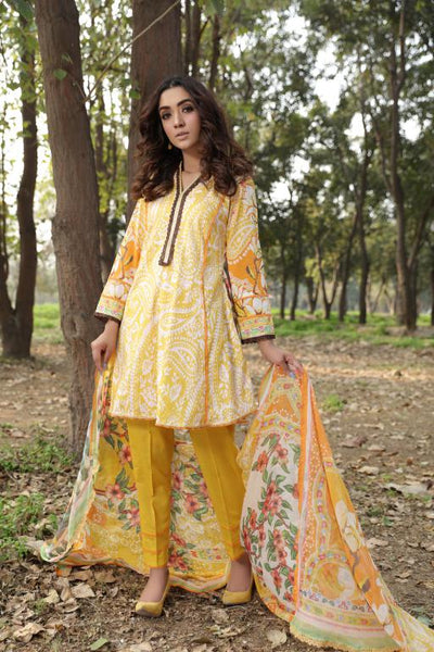 MS-04 - SAFWA DIGITAL EMBROIDERED 3 PIECE MODA COLLECTION -SHIRT Trouser and Duptta |SAFWA DRESS DESIGN| DRESSES| PAKISTANI DRESSES| SAFWA -SAFWA Brand Pakistan online shopping for Designer Dresses