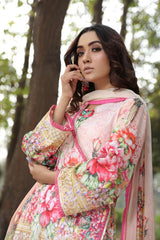 MS-05 - SAFWA DIGITAL EMBROIDERED 3 PIECE MODA COLLECTION -SHIRT Trouser and Duptta |SAFWA DRESS DESIGN| DRESSES| PAKISTANI DRESSES| SAFWA -SAFWA Brand Pakistan online shopping for Designer Dresses
