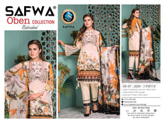 SB-07 - SAFWA OBEN COLLECTION VOL 1 2020 - 3 PIECE SUMMER DRESS COLLECTION