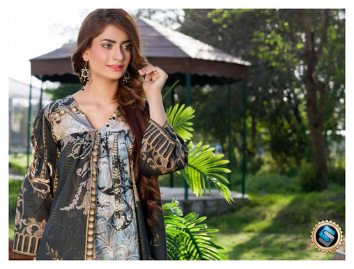 7b09e173c3 SAFWA DRESS DESIGN, DRESSES, PAKISTANI DRESSES, PR-08 - PRAHA COLLECTION -