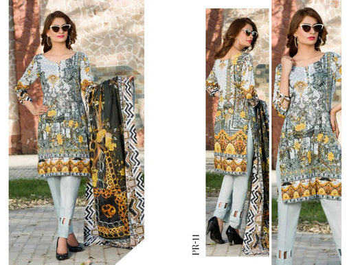 SAFWA DRESS DESIGN, DRESSES, PAKISTANI DRESSES, PR-11 - PRAHA COLLECTION - 3 PIECE SUIT 2019-Three Piece Suit-SAFWA -SAFWA Brand Pakistan online shopping for Designer Dresses